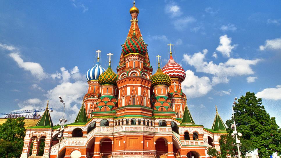 Црквата Свети Василиј – Москва, Руска Православна Црква ( Изградба 1551-1556 година)