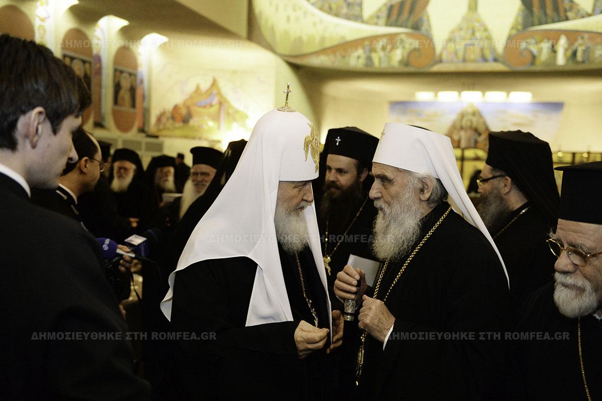 СПЦ во изборот меѓу Руската црква и Вселенската патријаршија сака да седи на две столици