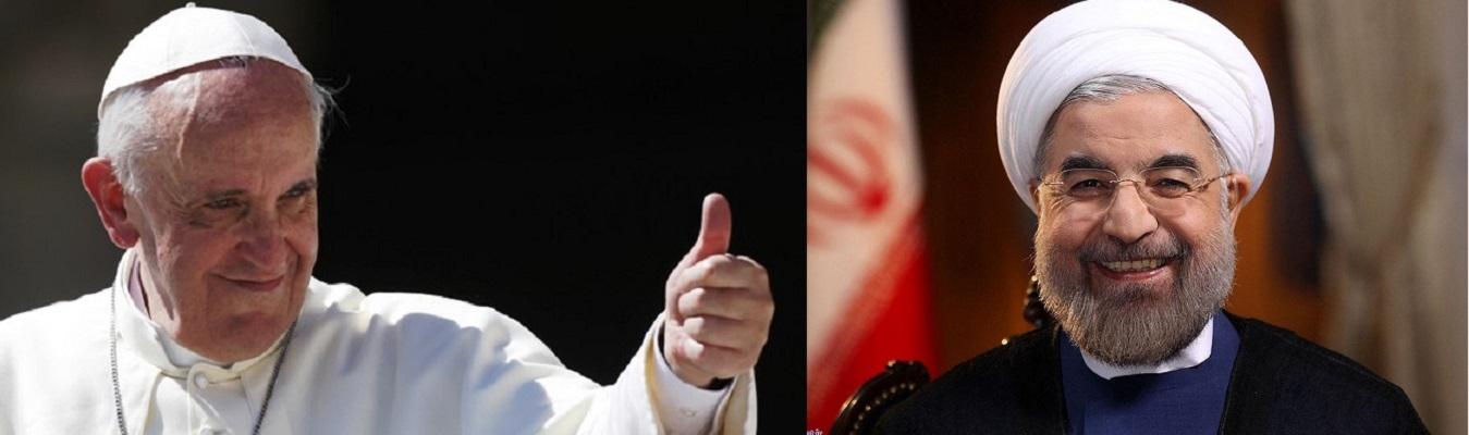 Иранскиот претседател на средба со папата Франциско