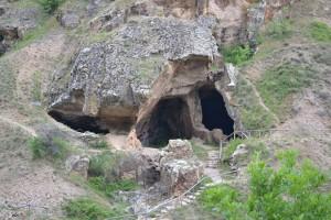 Лесновските пештери, домот на молитва на Гаврил
