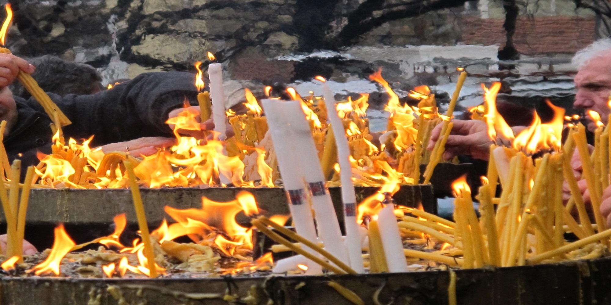 Божик во Скопје