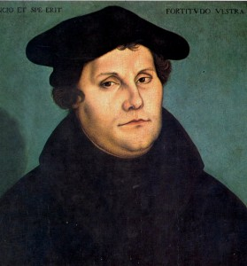 Мартин Лутер, основачот на Движењето за реформа на Црквата