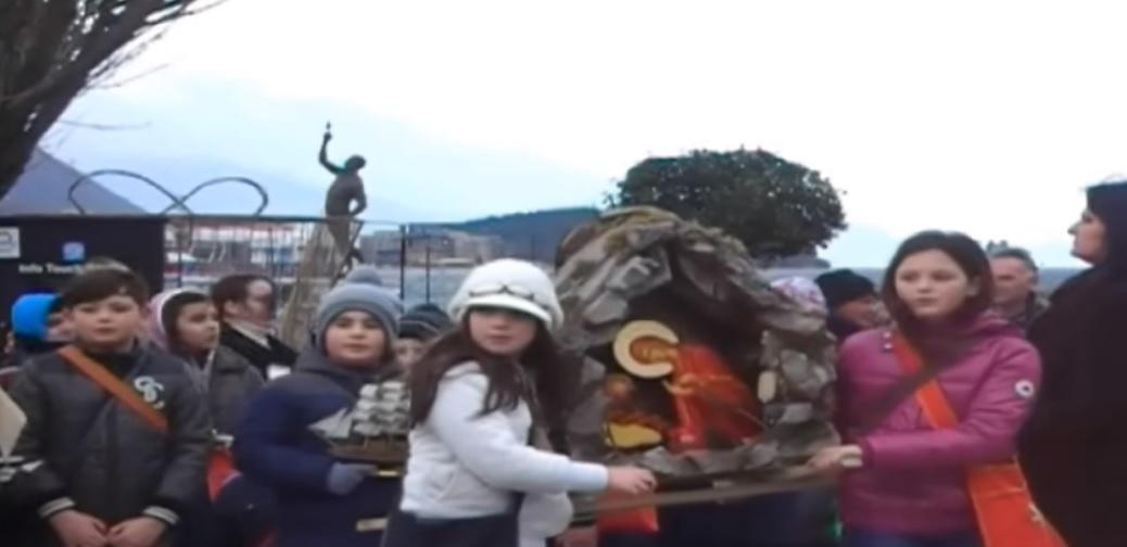 Охридска литија за враќање на црковната бадникарска песна