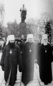 Врвот на УПЦ-Московски патријархат, во времето кога Филарет беше нејзин член