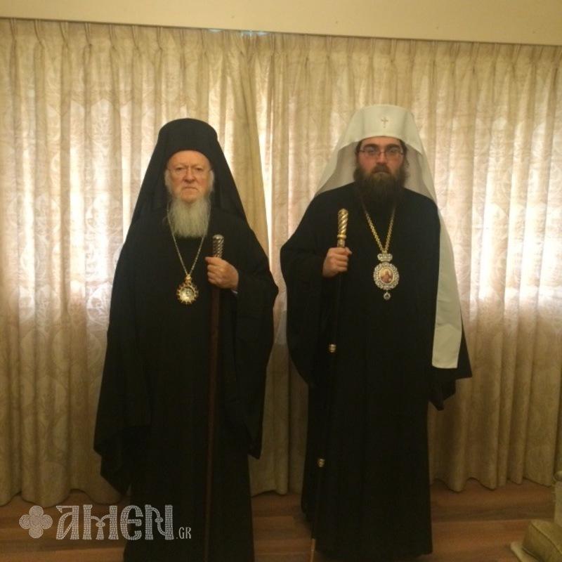 Вартоломеј и Ростислав се ракуваа за успешен Собор
