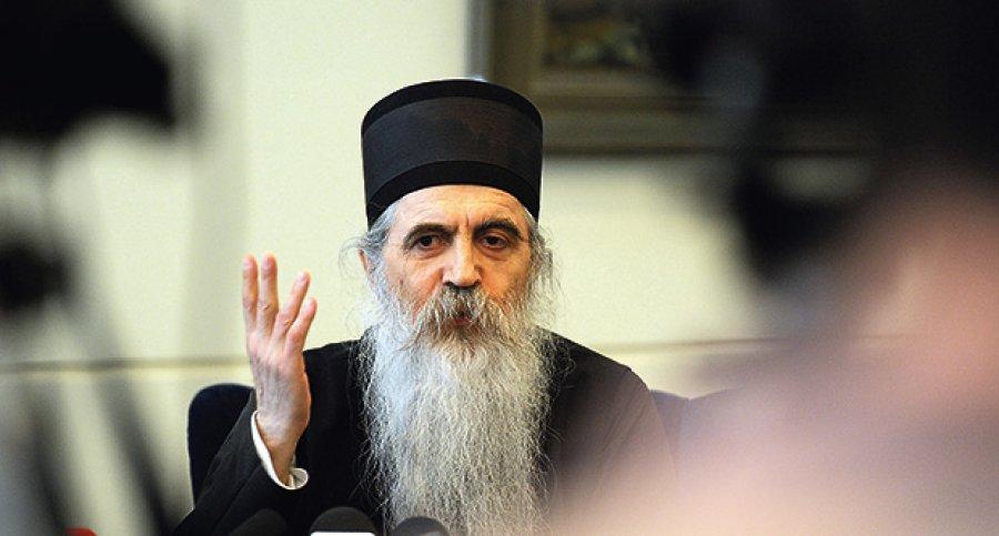 """Скандалозно: Иринеј Буловиќ ја нарече МПЦ """"Скопска црква"""""""