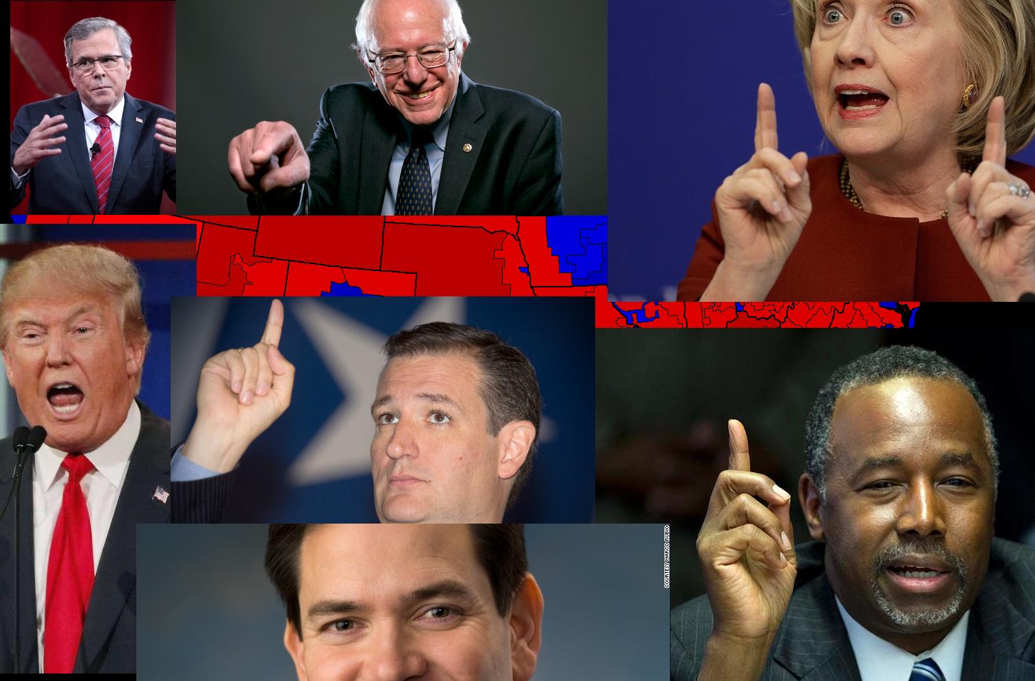 Во што веруваат претседателските кандидати на САД?
