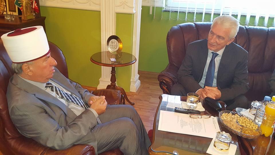 За прв пат Руски амбасадор на средба со поглавар на ИВЗ