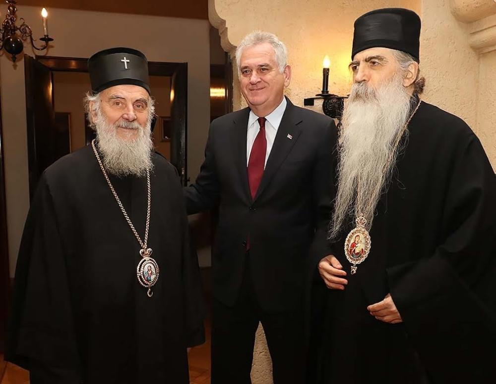 Николиќ го убедувал Српскиот патријарх да дозволи посета на Папата