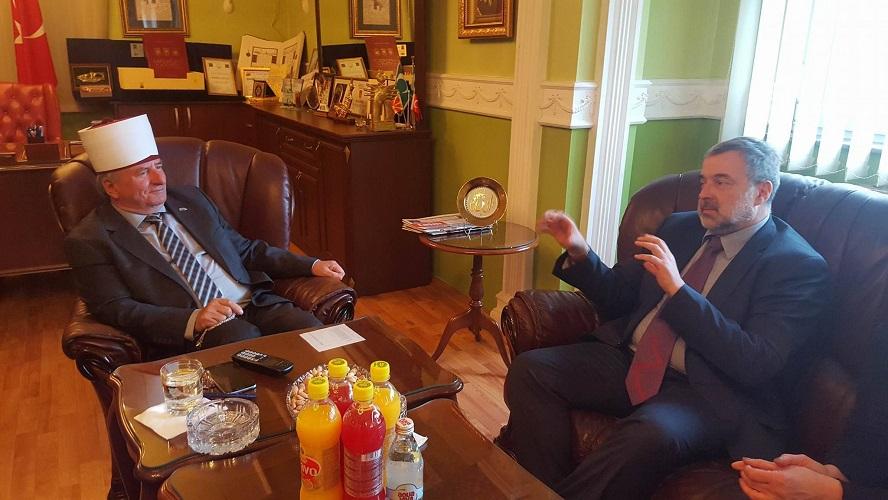 Полскиот амбасадор гостин кај Рејсот Реџепи