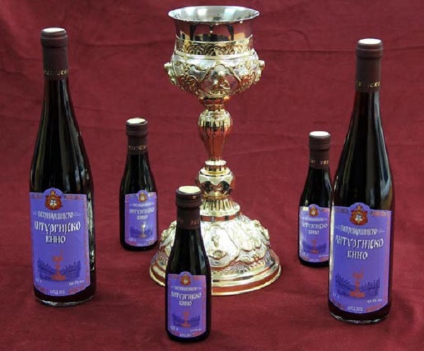 СПЦ извади свој бренд на вино на пазарот