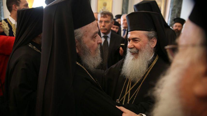 Драматична средба во Ерусалимската патријаршија
