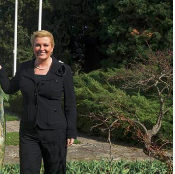 Како хрватската претседателка честита Велигден