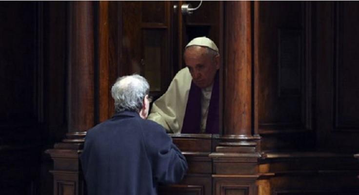 Папата ќе исповеда в петок