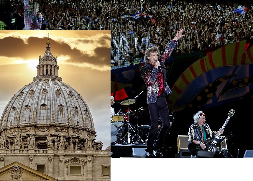 """Ватикан барал забрана за концерт на """"Ролинг Стоунс"""""""