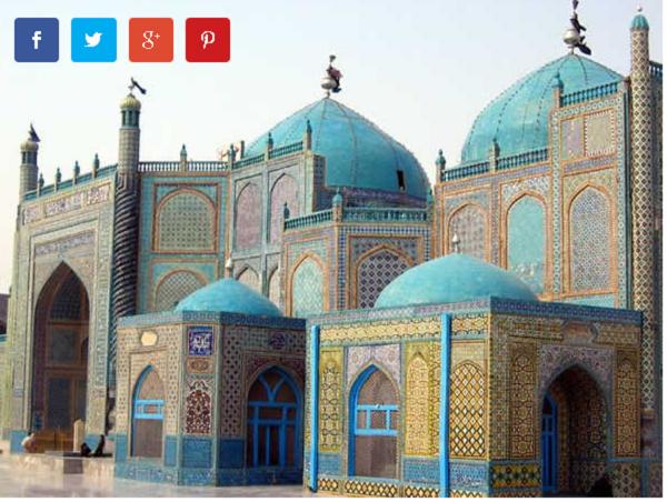 Џамијата Хазрат Али, Мазар-и-Шариф (Авганистан)