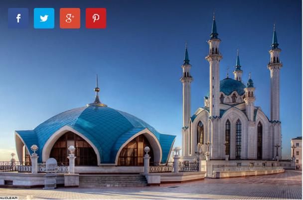 Џамијата во Казан (Казан, Русија)