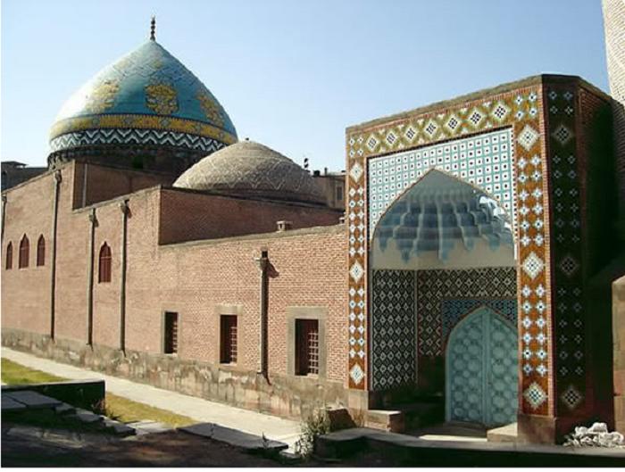 1.Сината џамија (Ереван, Ерменија)