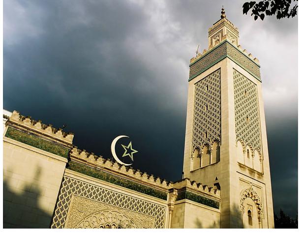 Големата Џамија во Париз, (Франција)