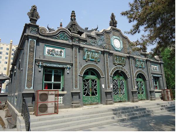 Големата Џамија во Хохот (централна Монголија, Кина)