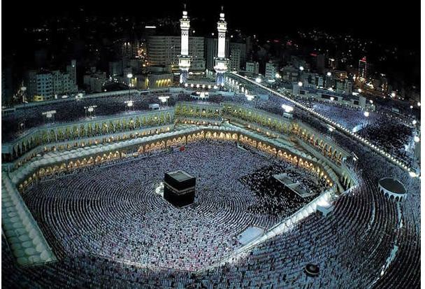 2 Големата Џамија (Мека, Саудиска Арабија)