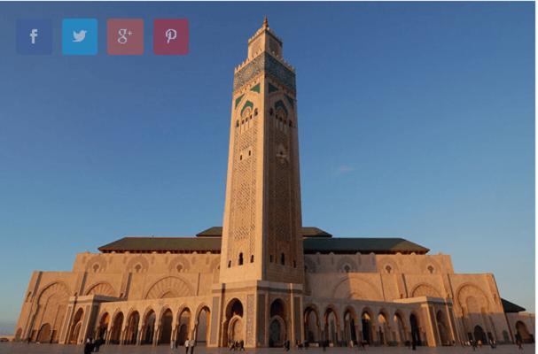 Хасан II Џамијата (Казабланка, Мароко)