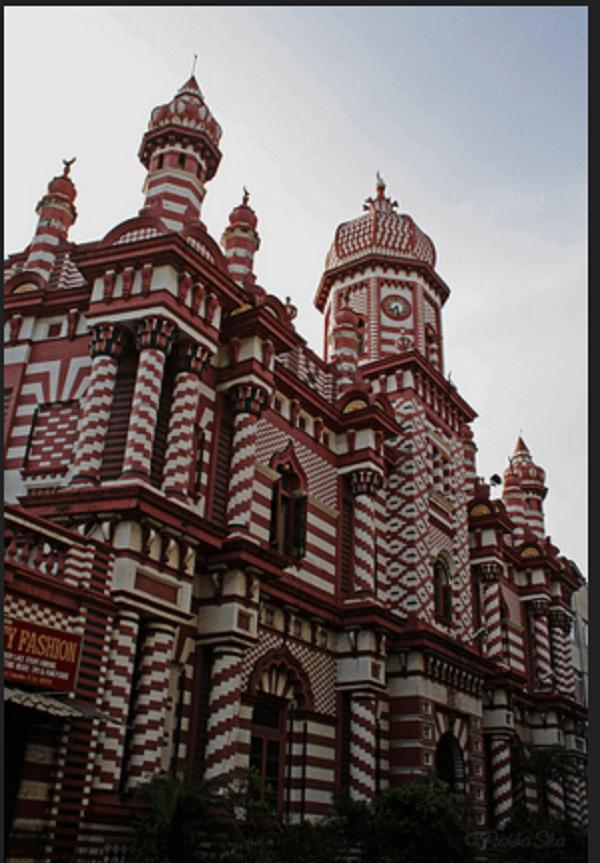 Јами  ул-Алфар Џамијата (Коломбо, Шри Ланка)