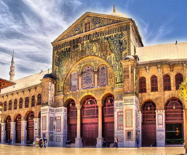 Големата џамија во Дамаск (Дамаск, Сирија)