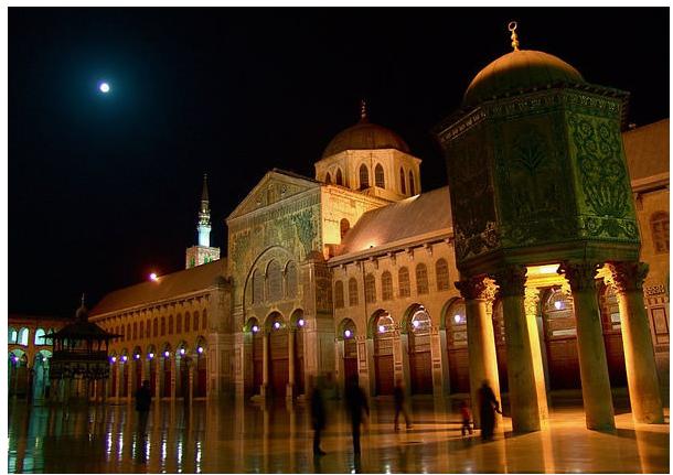 Омајед Џамијата во Дамаск (Дамаск, Сирија)
