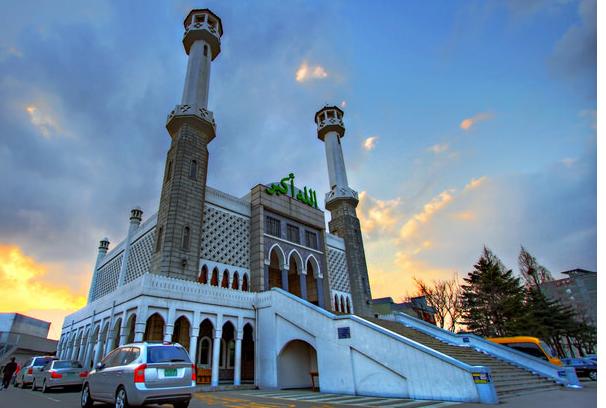 Џамијата центар во Сеул (Сеул, Јужна Кореја)
