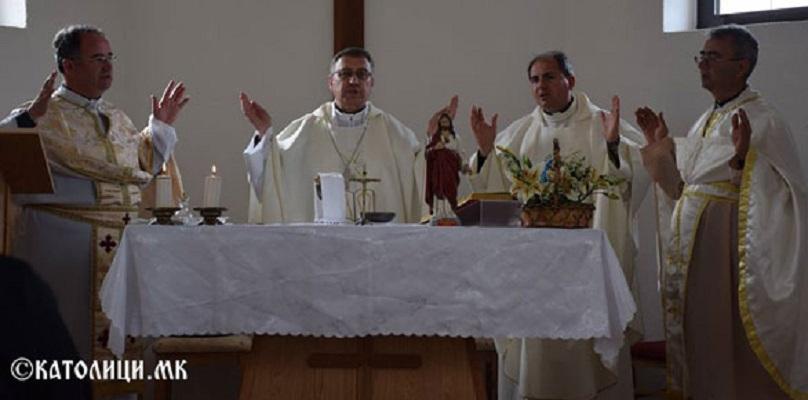Католиците го прославија патрониот празник на црквата во Бистренци