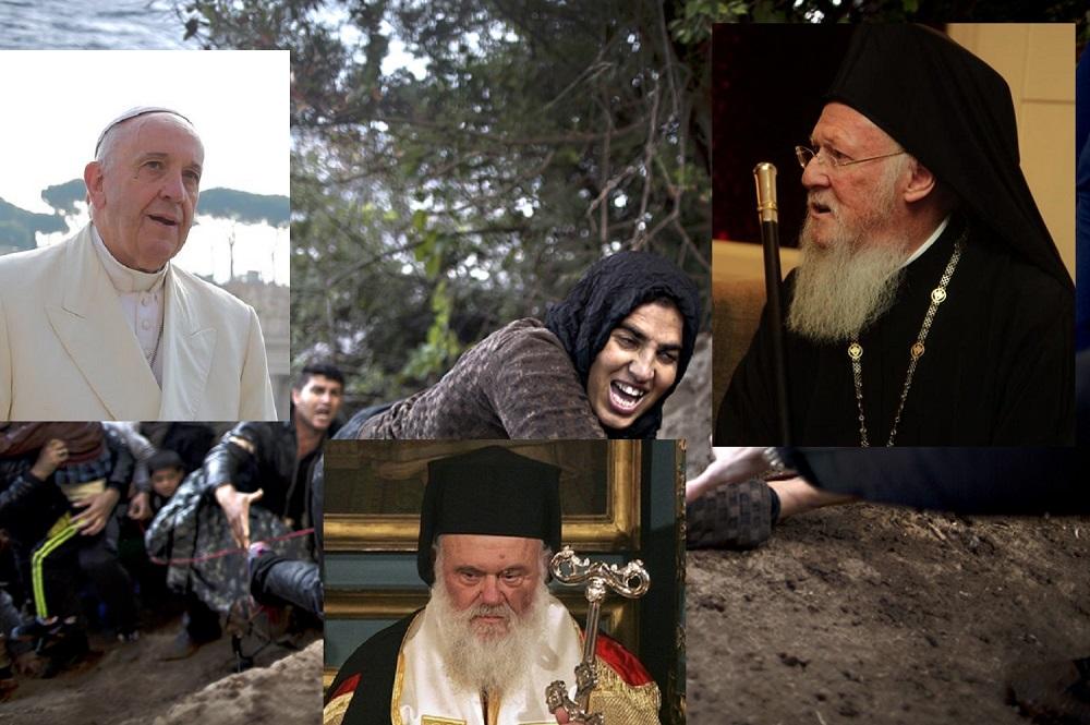 Грција одобри посета на Папата. Фрннциск, Вартоломеј и Јероним заеднички на Лезбос