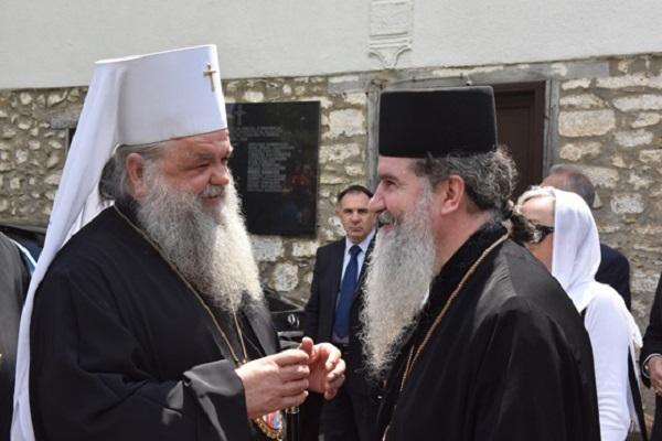 МПЦ го одликува со орден од прв ред монахот Методиј од Валламскиот манастир