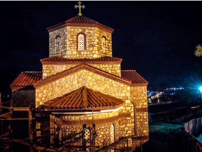 Осветување на нова црква во Велес