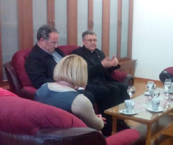 Средба Бискупот Стојанов со полскиот амбасадор