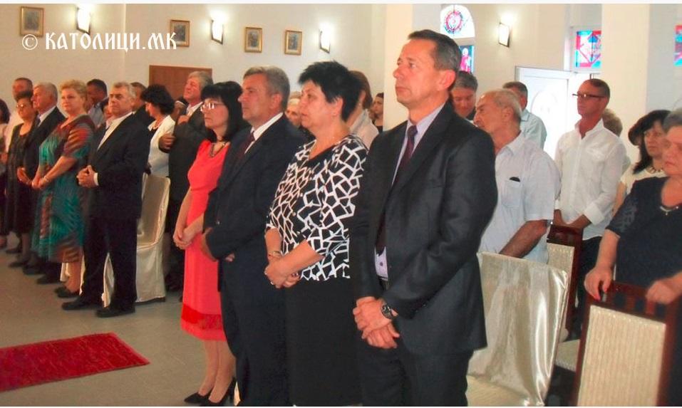 Групна венчавка во Католичката црква во Штип