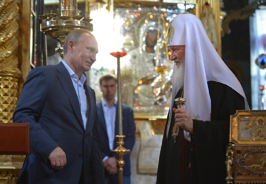 Владимир Путин и Патријархот Кирил, од средба на Атос исратија порака кој стои зад Православието