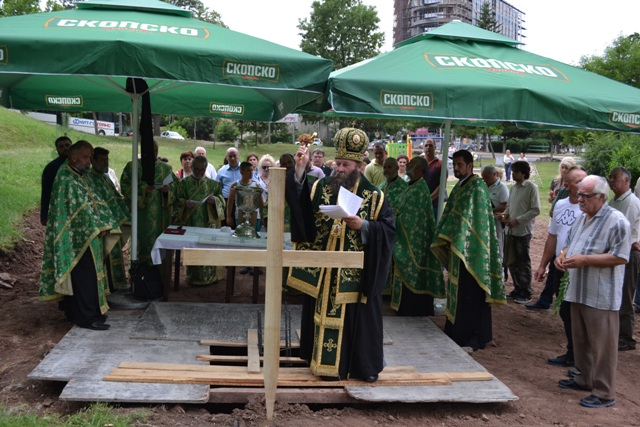 Гаврил Светогорц ќе го добие првиот храм во Брегалничката епархија