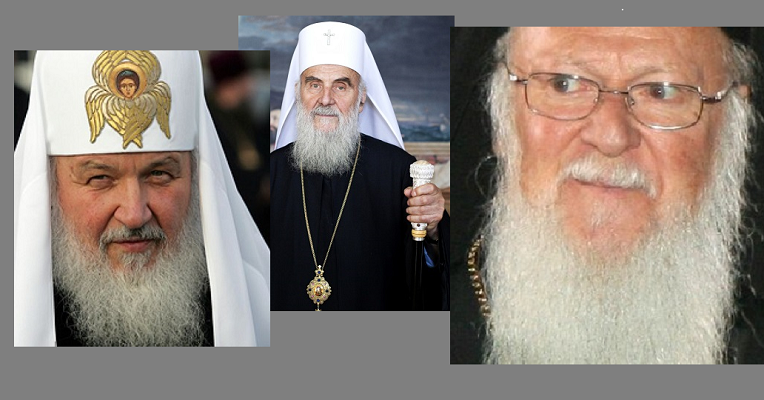 Српската црква се построи во рускиот строј против Вартоломеј