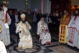 Јован и неговиот ментор Иринеј Буловиќ