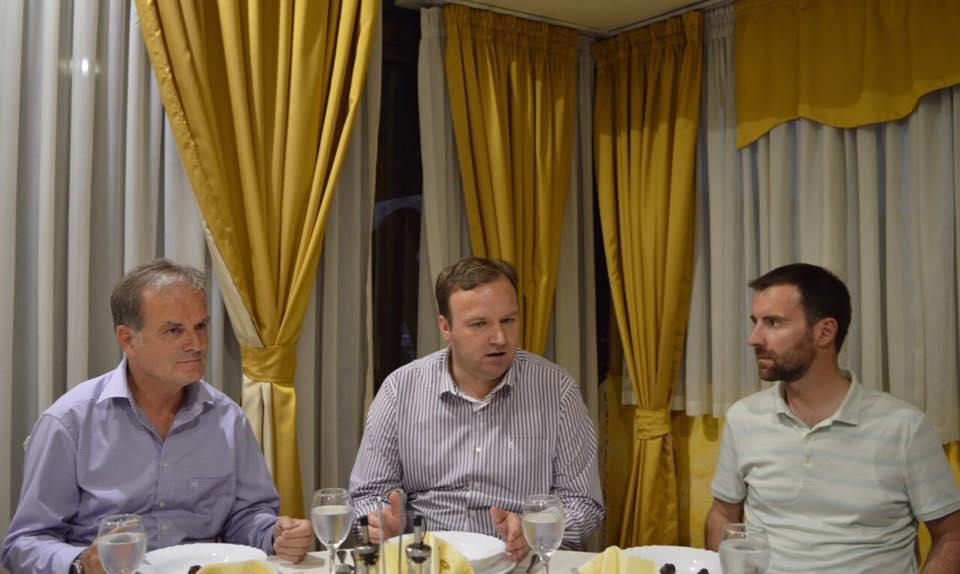 Димитриев, Димовски и Чадиев на Ифтар во Велес