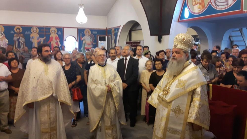 "Архиепископот за ""Свети Петар и Павле"" во Ѓорче Петров"