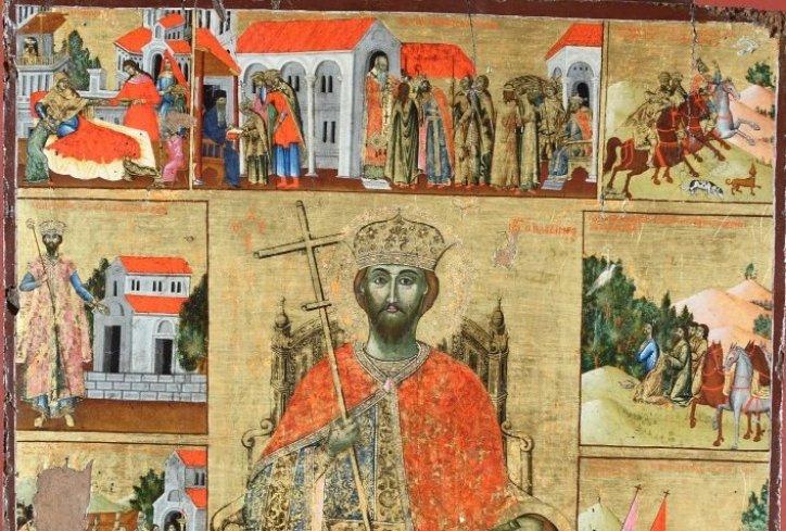 Македонските монаси го сочувале черепот на Свети Јован Владимир на Света Гора