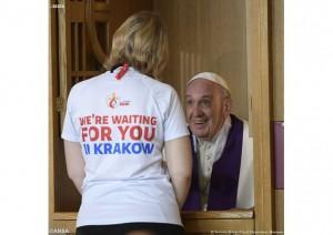 Papa vo Krakov 2