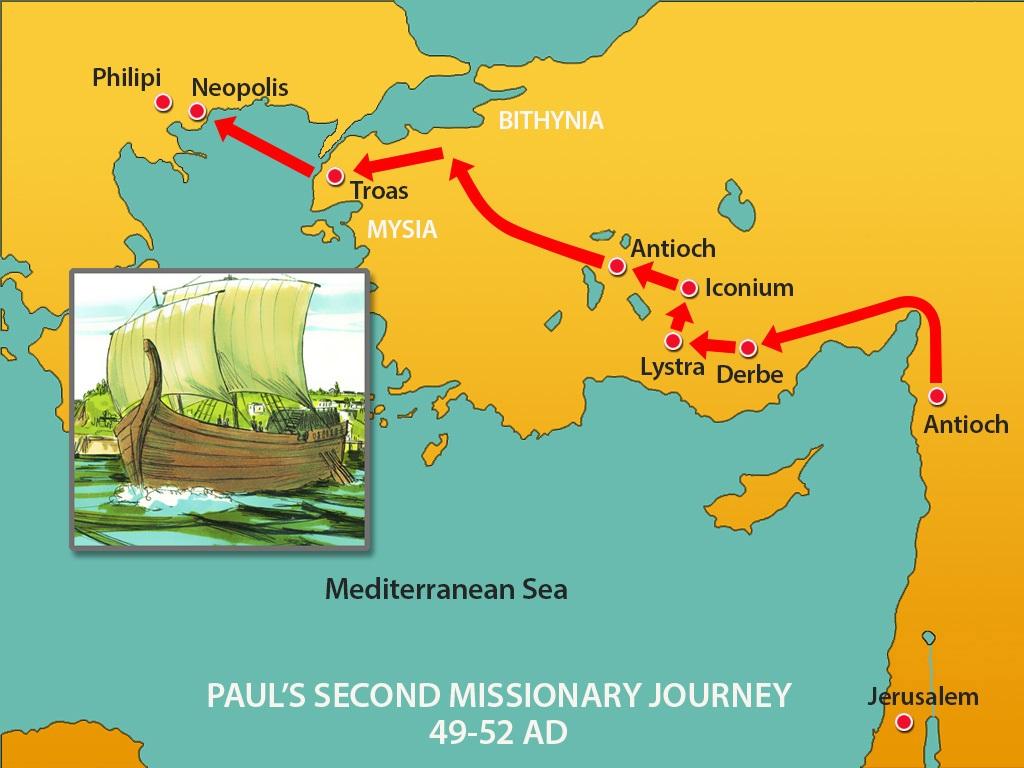 Црквата во Филипи е Првата Црква на европскиот континент