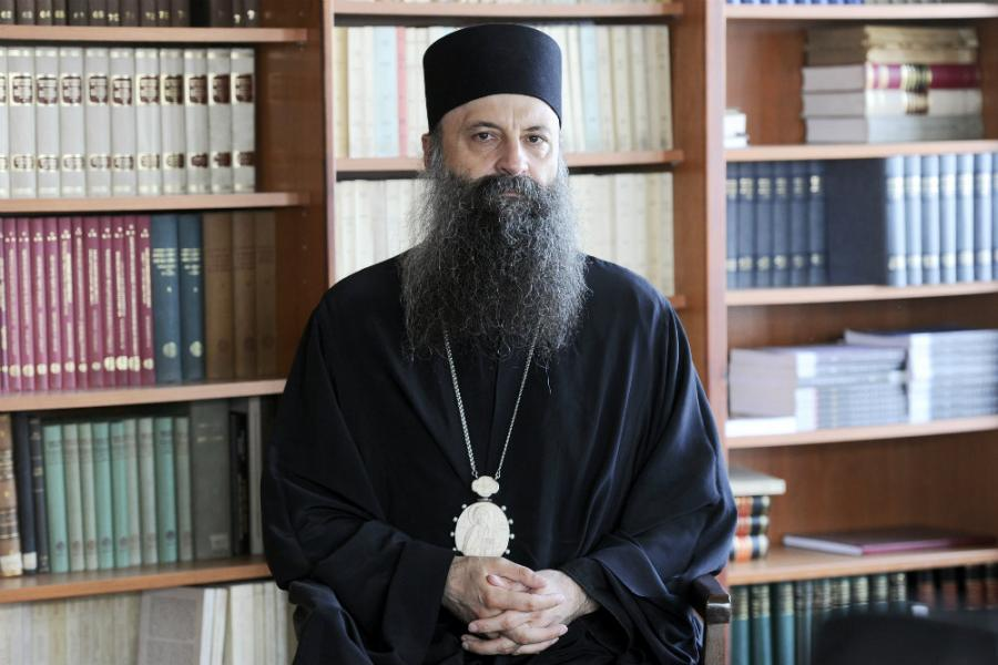 Порфириј нов српски Патријарх