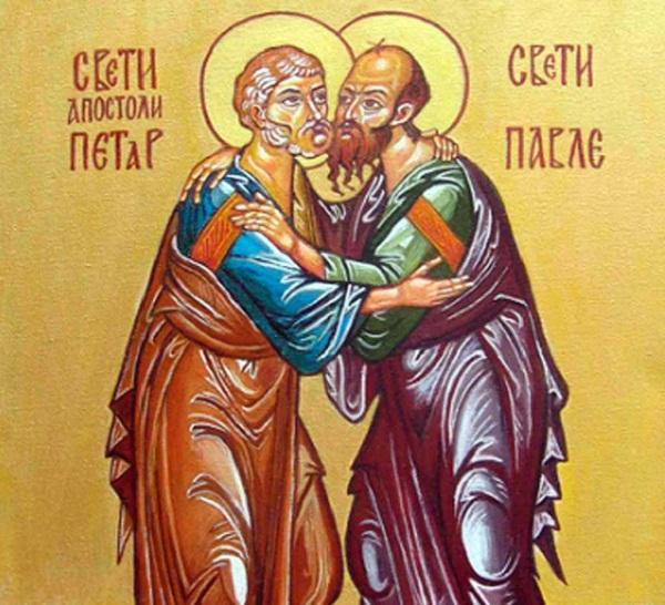 Денеска е Петровден, спомен за светите Апостоли, Петар и Павле