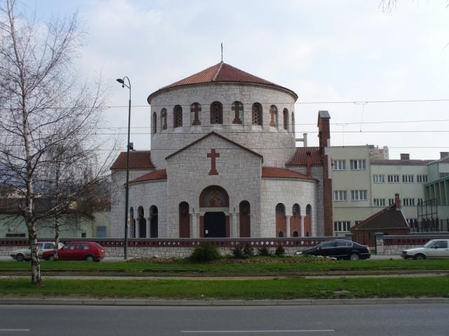 Запалена православна црква во центарот на Сараево