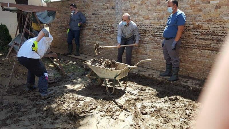 ИВЗ: Жителите на поплавените подрачја да соработуваат со АРМ и со државните служби