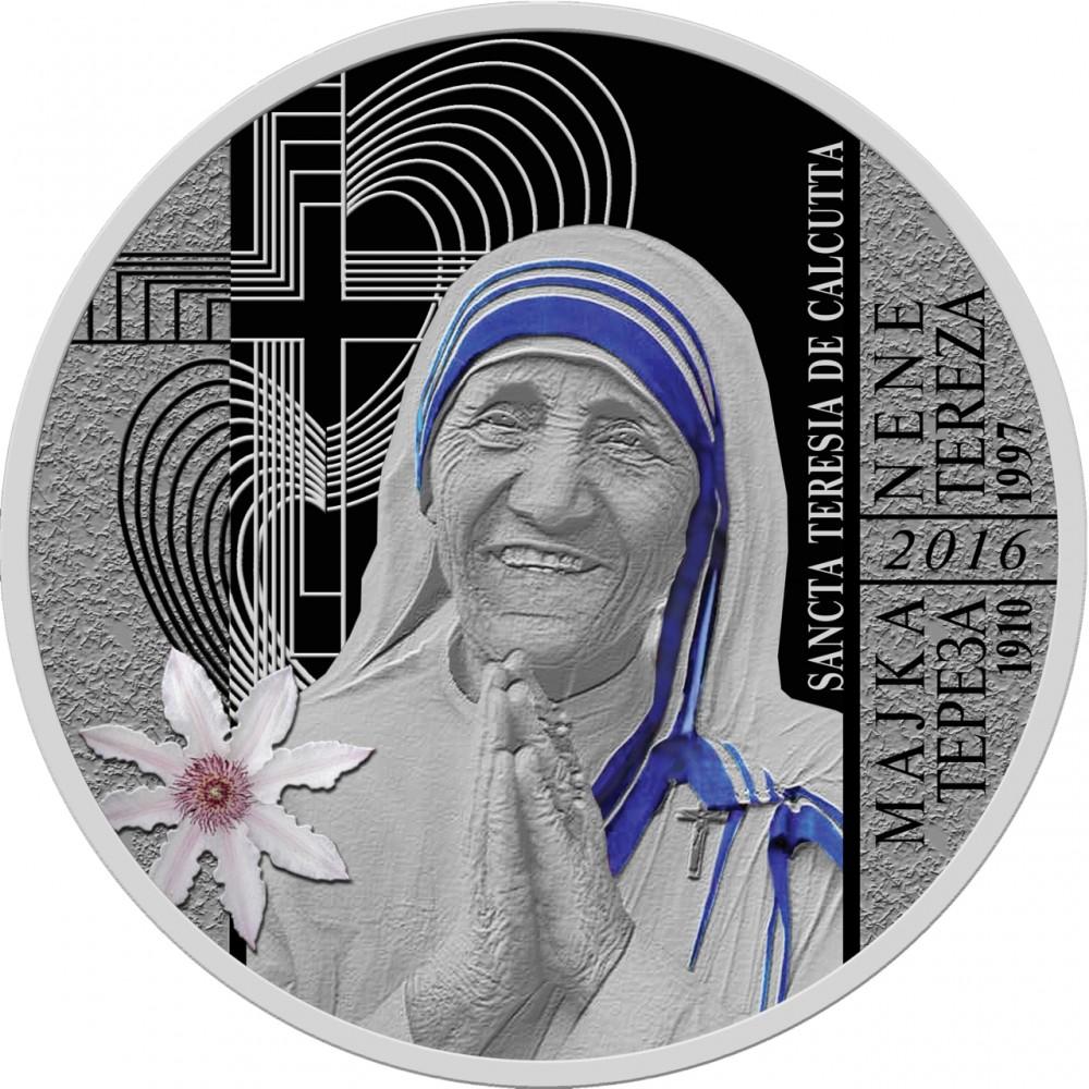 НБРМ издаде монета во чест на канонизацијата на Мајка Тереза